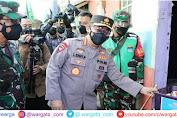 Panglima TNI dan Kapolri  Tinjau Posko PPKM Mikro di Kantor Kelurahan Turangga
