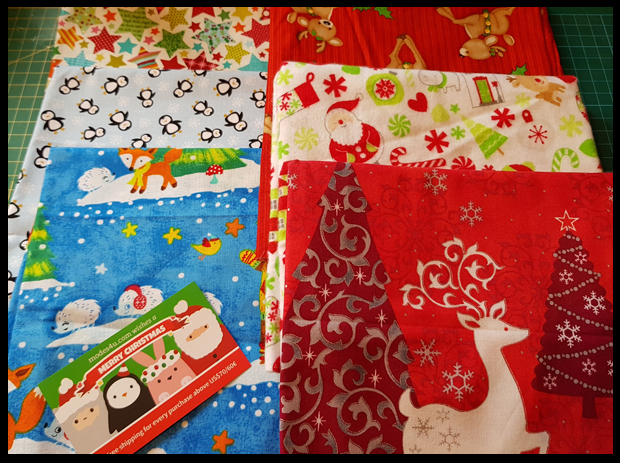 Kawaii Christmas Fabrics from Modes4U