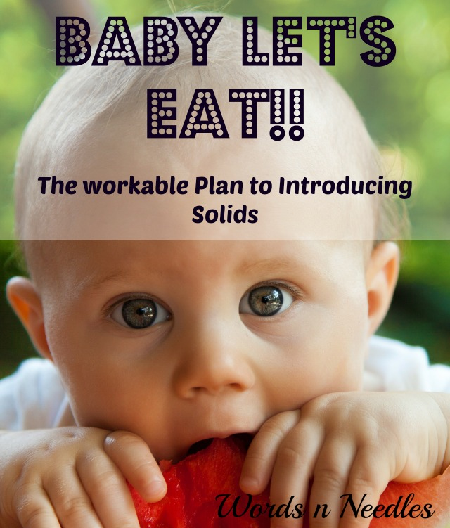 solids weaning baby food