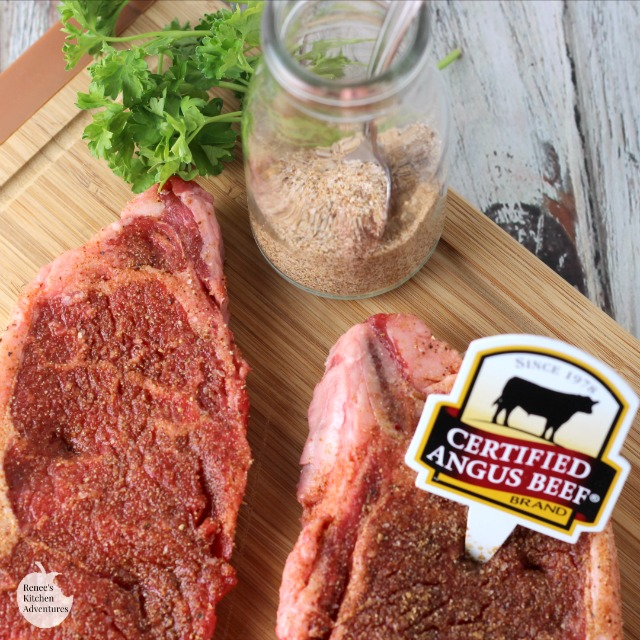 Homemade Coffee Steak Rub | by Renee's Kitchen Adventures - easy homemade recipe for a steak seasoning made with coffee. Perfect on steak, chicken, pork and more! #SundaySupper