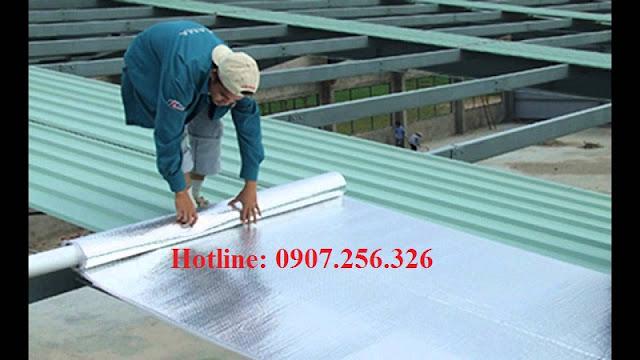 tấm cách nhiệt chống nóng cho mái tôn