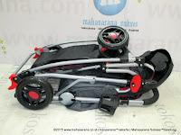 Kereta Bayi Pliko PK369 Nitro Rocker Hadap Depan Belakang Red