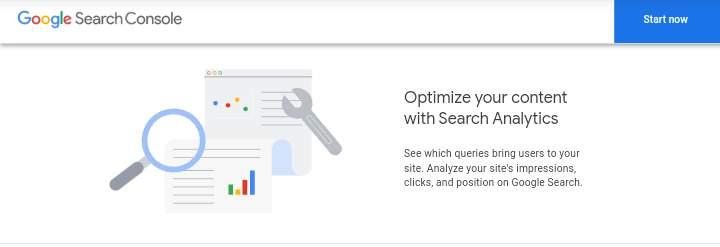 google search console - Keyword tool