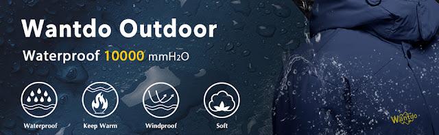 Waterproof ski suits