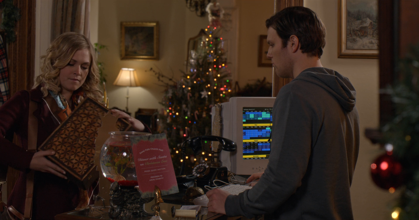 Tarjeta de Navidad (2017) 1080p Latino - Ingles captura 4
