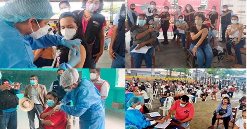 MINEDU: Loreto acelera vacunación de docentes de zonas rurales