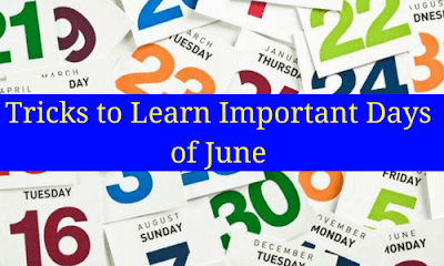 Tricks to Learn Important Days of June