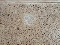 Arabescos; Yeso; Tumbas saadíes; Saadian tombs; Tombeaux saadiens; Marrakech; مراكش; ⴰⵎⵓⵔⴰⴽⵓⵛ; Marruecos; Morocco; Maroc; المغرب
