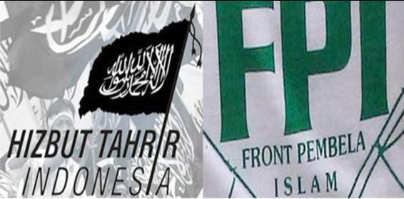 Bendera HTI dan FPI