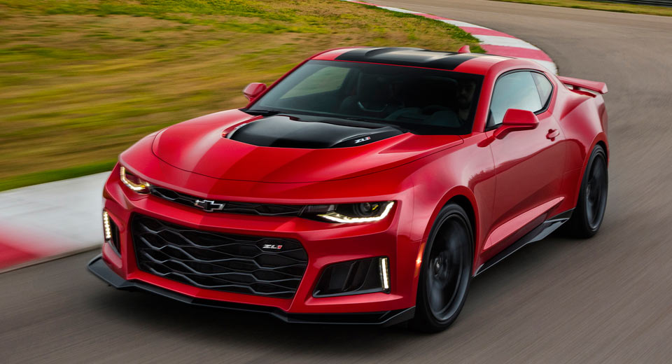 Chevrolet's 485kW Camaro ZL1 quicker than Hellcat