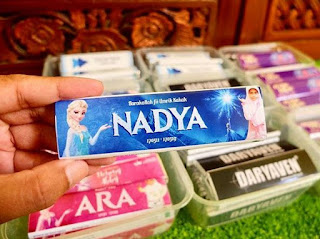 coklat birthday nadya