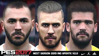 PES 2017 Next Season Patch 2019 AIO Update V2.0