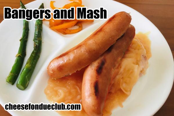 バンガーズアンドマッシュのレシピ Bangers and Mashバンガーズアンドマッシュのレシピ Bangers and Mash
