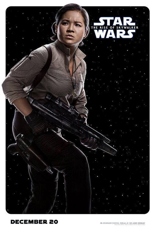 Star Wars Rise of Skywalker Rose poster