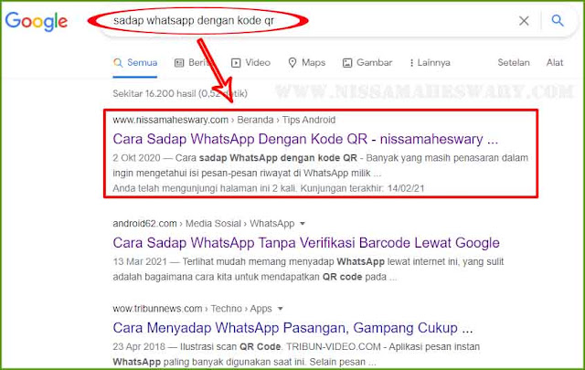cara sadap whatsapp dengan barcode qr
