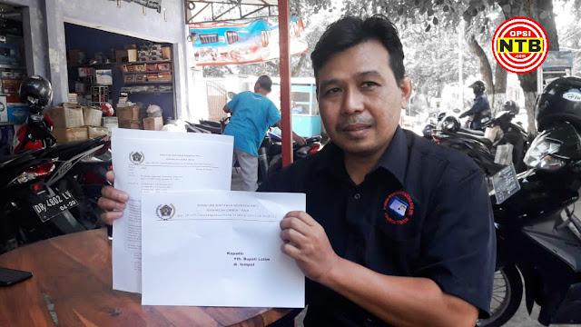 Soal SK BPPD, Anggota PWI Somasi Bupati Lotim Serta 3 Anak Buahnya