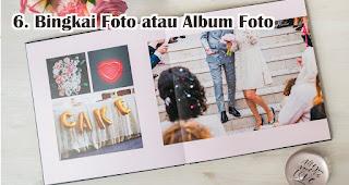 Bingkai Foto atau Album Foto Untuk Hadiah Pernikahan Temanmu Yang Baru Menikah