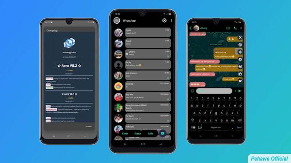 WhatsApp Aero v8.93 Terbaru Apk