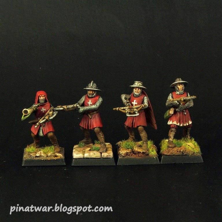 PinAtWar: Crossbowmen Of Drakenborg / Kusznicy Z Drakenborgu
