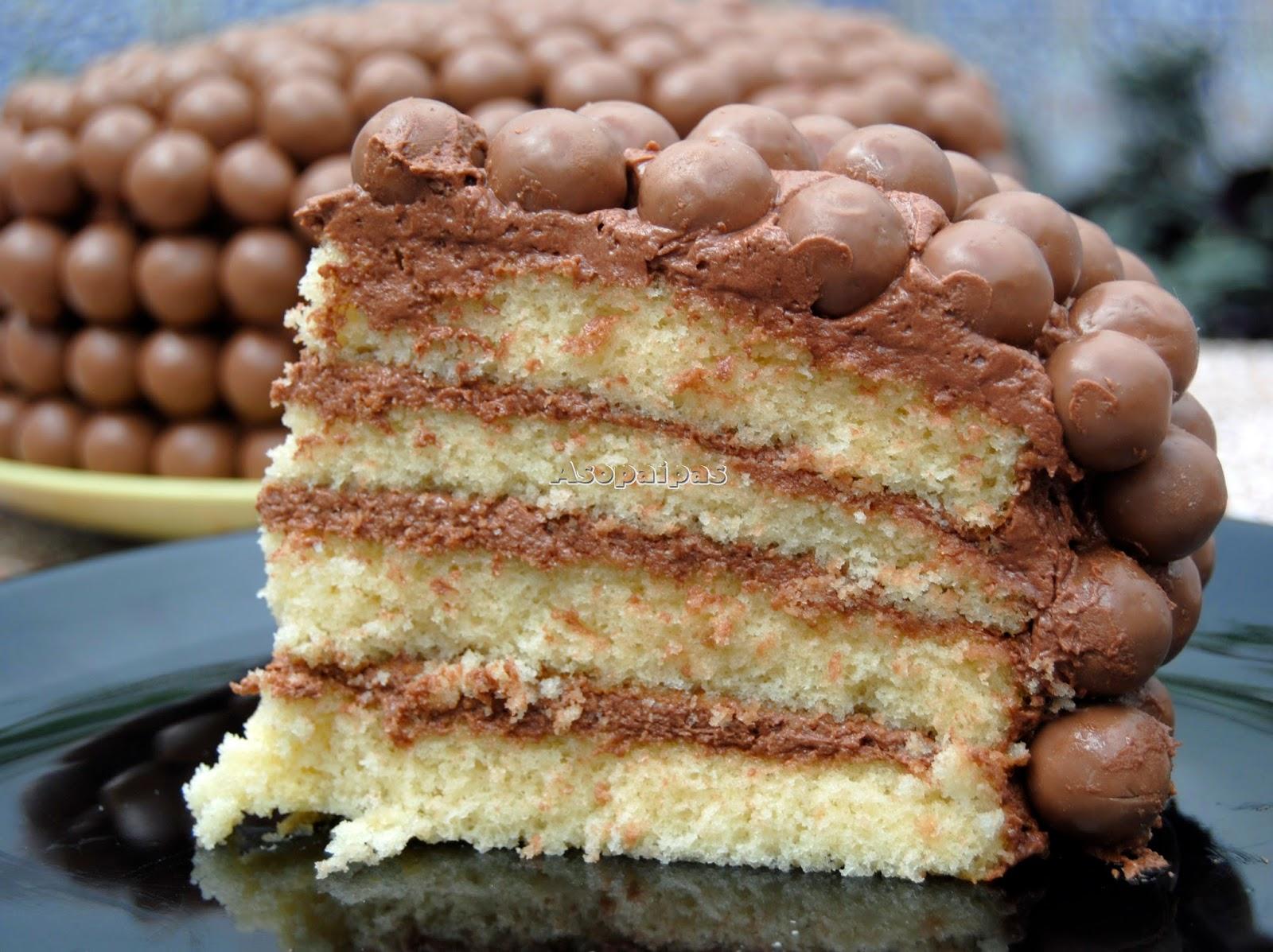 Tarta de Maltesers® (Maltesers Cake)
