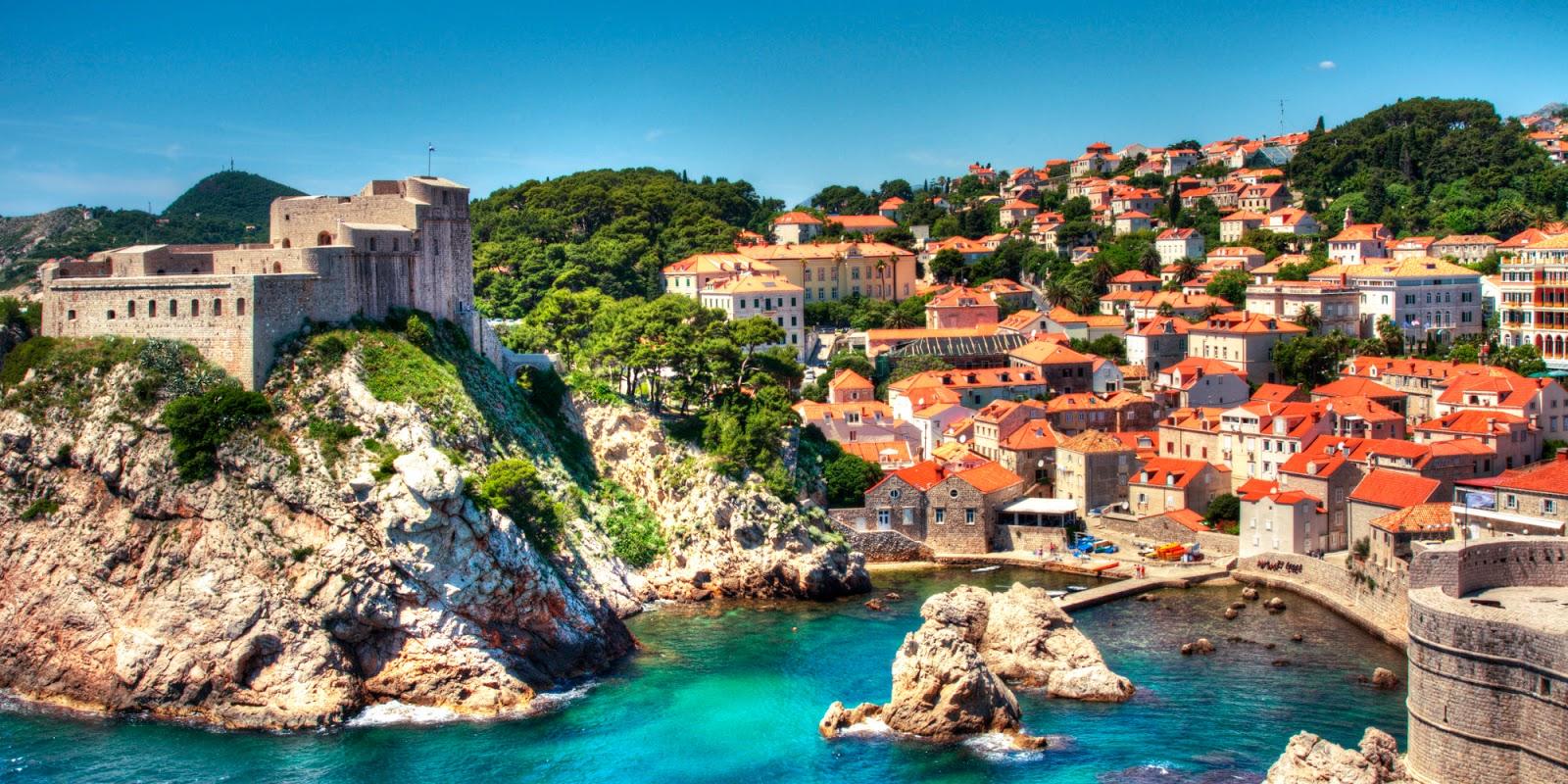 Zadar City Croatia Flag Tie Clip Engraved in Pouch