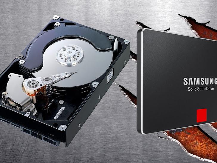Perbedaan Harddisk dan SSD, Simak Selengkapnya