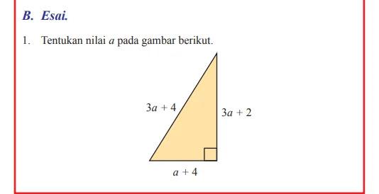 Kunci Jawaban Matematika Kelas 8 Halaman 49 50 51 52 Uji Kompetensi 6 Esai Wali Kelas Sd