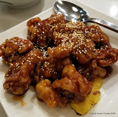 Lin Asian Bar Hawaiian Sesame Chicken