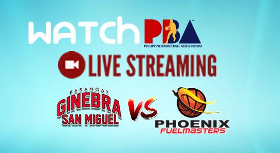 Livestream List: Ginebra vs Phoenix game live streaming January 26, 2018 PBA Philippine Cup
