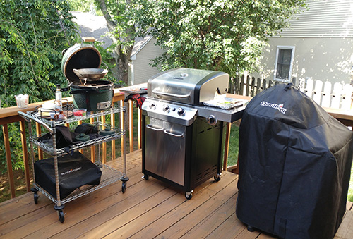 Char-Broil Signature Series gas grill