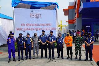 Ketat, Pengawasan Lalu Lintas di TSS Selat Sunda dan Selat Lombok Oleh Berbagai Unsur