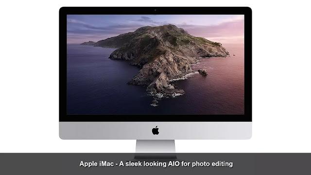 Apple iMac - a sleek looking AIO for photo editing