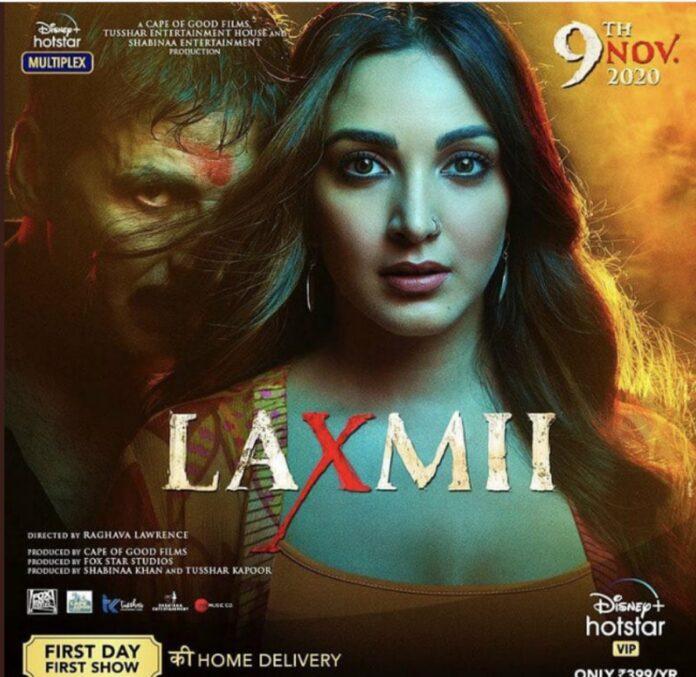 Laxmii 2020 tampil di India dan Luar Negeri