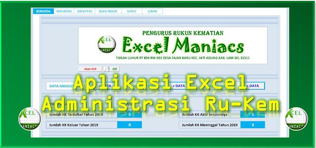 Aplikasi Excel Iuran Rukun Kematian