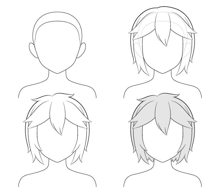 cara Menggambar Rambut Anime Pendek Berantakan.jpg