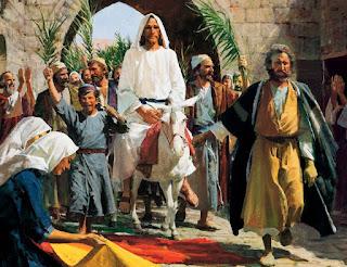 Oração para início da Semana Santa