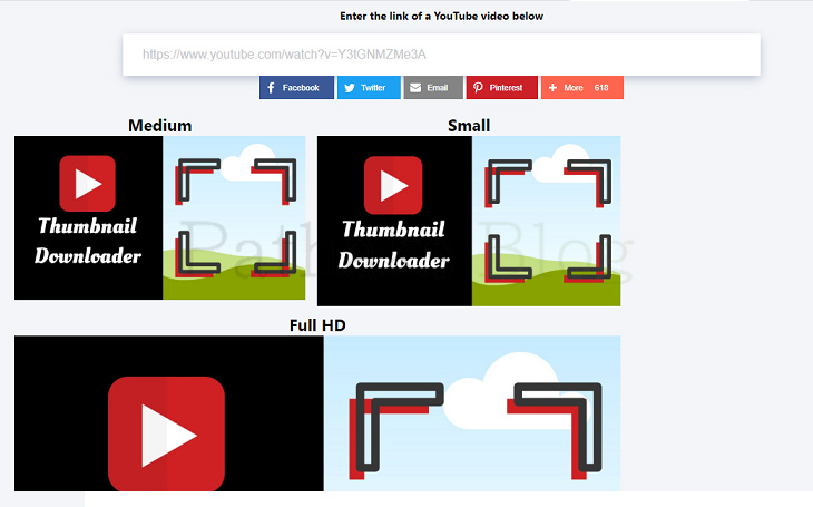 [Best] Youtube Thumbnail Downloader [100%] Working Method, youtube thumbnail downloader, pathaks blog, anil pathak