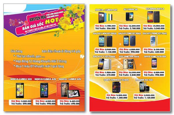 In tờ rơi, in tờ gấp, in brochure Nha Trang