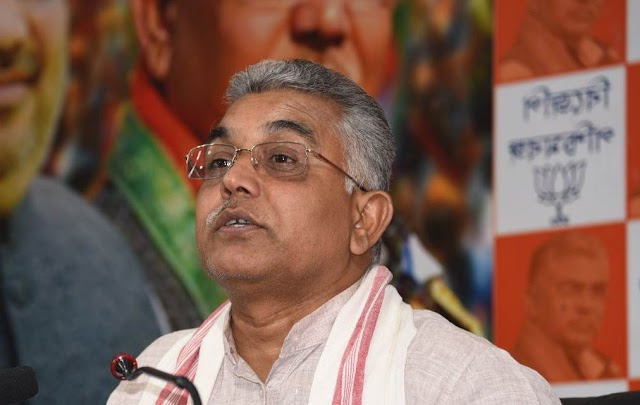 कानून को नहीं मानती हैं मुख्यमंत्री ममता बनर्जी: दिलीप घोष
