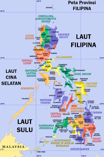 Peta Provinsi Filipina