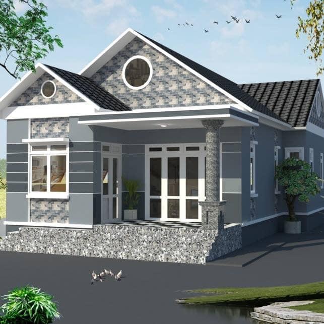 mẫu nhà đẹp với giá xây chỉ từ 100 triệu cho vợ chồng trẻ năm 2019