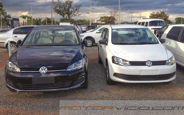 carro Golf 2014 Volkswagen
