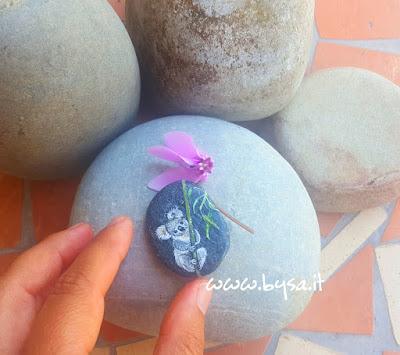 Sassi dipinti prezzi koala miniatura