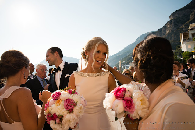 Summer wedding in Praiano