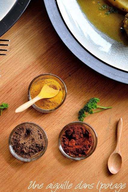épices quatre-épices-curcuma-paprika fumé