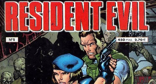 Resident evil - Comic - Portada