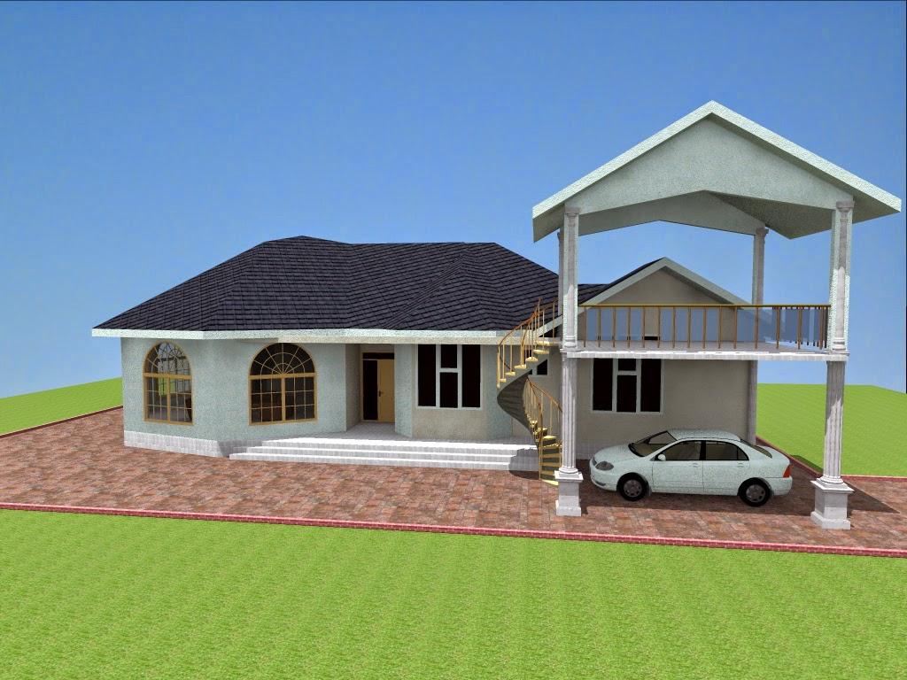Nyumba Za Kisasa Modern House