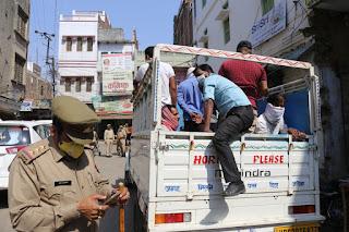 जौनपुर : बाप रे! 150 से अधिक लोगों को डीएम, एसपी ने पकड़वाकर भेजा क्वारंटीन | #NayaSabera