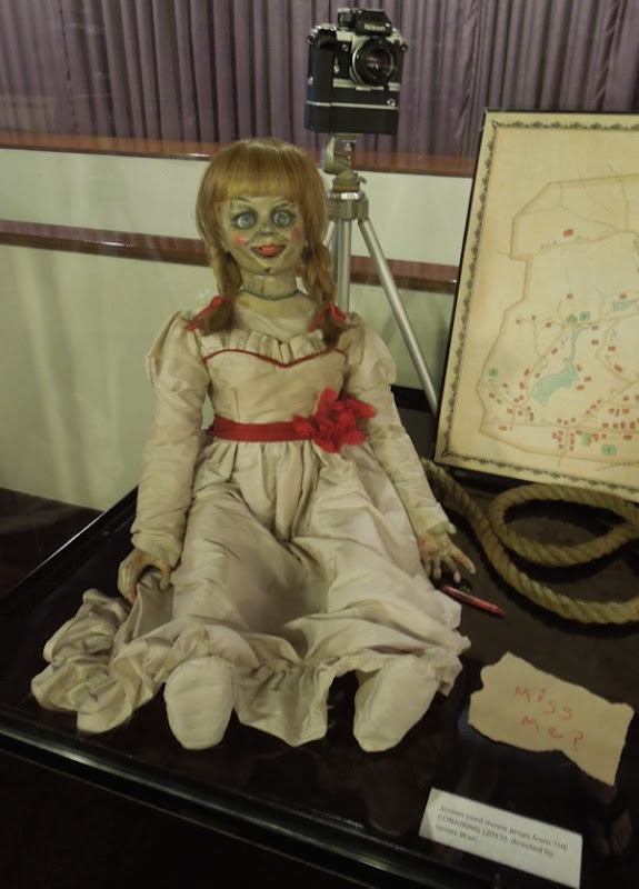 Possessed doll film prop The Conjuring