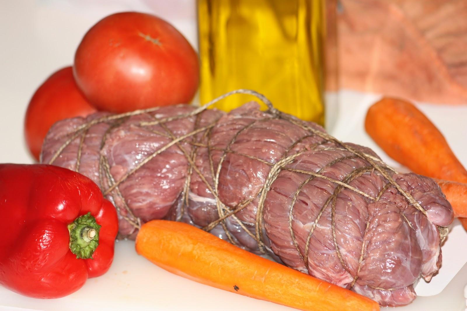 Cocinateca: Falda de Ternera Rellena